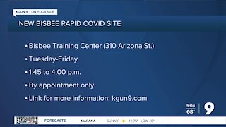 Health center in Bisbee offering free rapid COVID testing
