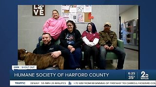 Good Morning to the Humane Society of Harford County!