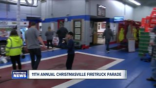 11th Annual Christmasville Firetruck Parade