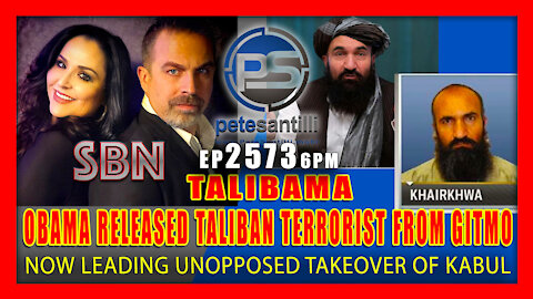EP 2573-6PM OBAMA RELEASED TALIBAN LEADER FROM GITMO WHO'S NOW LEADING TAKEOVER OF KABUL