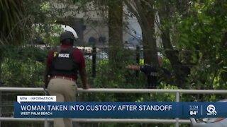 Woman 'randomly' firing shots inside West Palm Beach Red Roof Inn