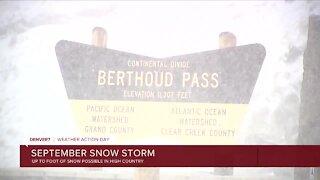 Colorado's wild weather shift