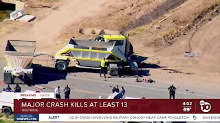 Multiple people killed in Imperial County crash