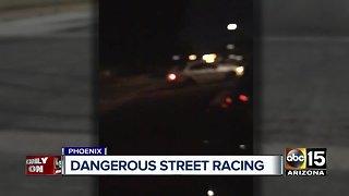 Dangerous street racing in Valley neighborhoods