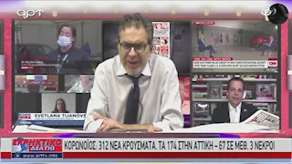 Ο Στέφανος Χίος στο Εκρηκτικό Δελτίο του ΑRΤ 16-09-2020