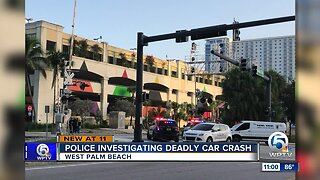 Person dies on train tracks overnight in West Palm Beach