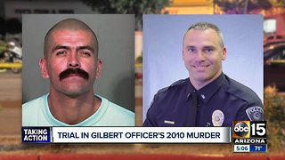 Trial continues in Gilbert officer's 2010 murder