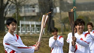 Tokyo Olympics Torch Relay Begins