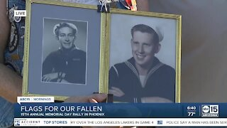 Flags for our Fallen event honors heroes on Memorial Day