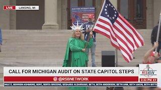 Michigan Rally Demanding Forensic Audit 10/12/2021