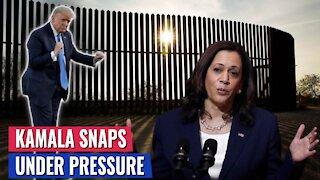 BREAKING: KAMALA SNAPS UNDER PRESSURE, WILL RUSH TO VISIT BORDER BEFORE TRUMP
