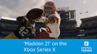 'Madden 21' is coming to the Xbox Series X
