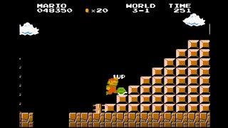 Super Mario Bros. 1986 NES (Gameplay)