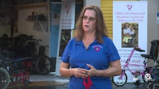 Palm Beach County woman changing lives of mobility challenged children