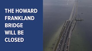Howard Frankland Bridge to close this weekend for construction
