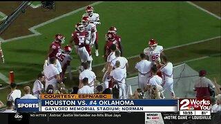 Jalen Hurts leads Oklahoma to 49-31 season-opening defeat of Houston