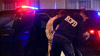 Male driver arrested after leading police on 40-minute pursuit