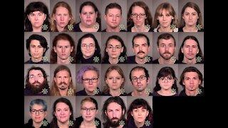 Antifa mass arrests!