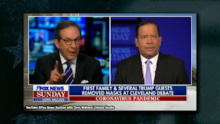 Chris Wallace Blows a Gasket on Trump Advisor, Slams First Family For Not Wearing Masks at Debate