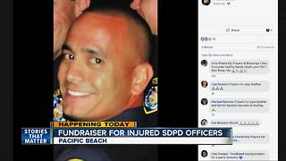 Fundraiser being held for SDPD officers injured in shooting