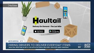 Haultail hiring drivers to deliver everyday items