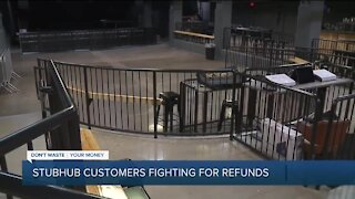 StubHub's no-refund policy leaves ticket holders fuming