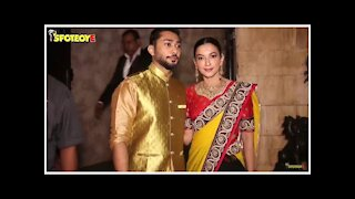 Gauahar Khan and Zaid Darbar Along with Family Spotted for Dinner   SpotboyE