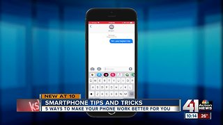 5 ways to make your phone work better for you