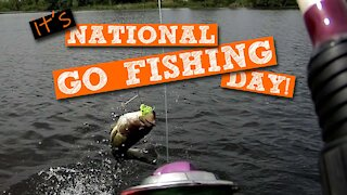 S1:E5 Hitting the Water on National Go Fishing Day | Kids Outdoors