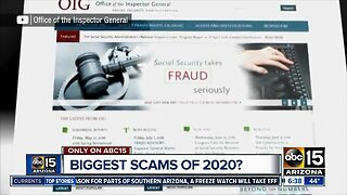Biggest scams of 2020?