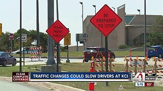 Traffic changes could slow drivers at KCI
