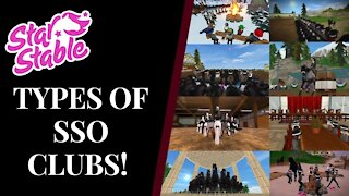 Types Of SSO Clubs! Star Stable Quinn Ponylord