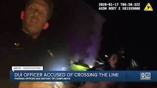 Lawsuit filed against Phoenix DUI officer with history of complaints