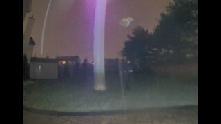January Night Celestial Activity, White Orbs, Blue Angel Lightning & Purple Light (2021 North NJ)