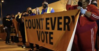 Ballot counting in battleground states