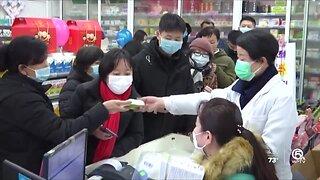 Coronavirus fears clearing shelves