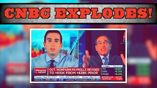 CNBC Anchors Got In To It Over Covid Restrictions