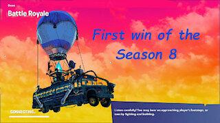 First win of the Season 8