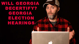 CAN GEORGIA DECERTIFY their election results? GA Senate Hearings on the 2020 Election