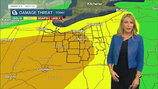 Noon update on severe weather threat
