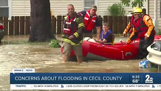 Concerns about flooding in Cecil County