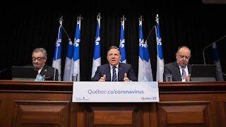 François Legault annonce une conférence de presse de dernière minute ce mercredi soir