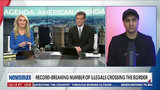 Migrants Caught on Camera Crossing The Border