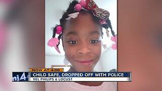 Six-year-old Milwaukee girl found safe