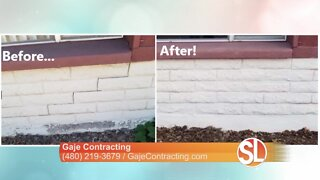 Full-service concrete repair specialist Gaje Contracting can repair your biggest investment, your home!