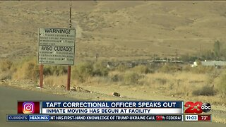 Taft correctional officer speaks out about prison closure