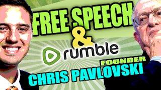 Rumble Founder Chris Pavlovski on the Platform and the Future of Free Speech