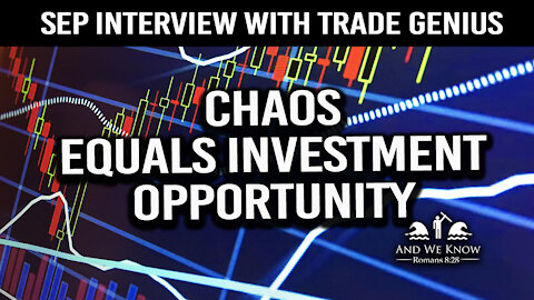 Sept. Trade Genius Interview: Lot's of Turmoil...don't fret...keep investing