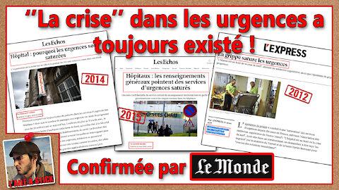 """2021/036 """"La crise"""" dans les urgences a toujours existé !"""