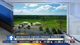 Recreation center opening in Charlotte County on Monday